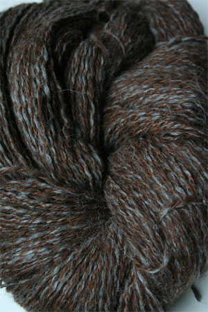 PT113 Chocolate/Grey Twist Peruvian Twist Superfine Alpaca