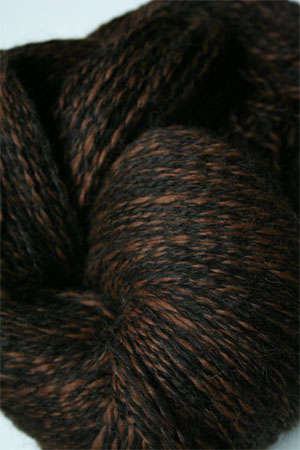 PT119 Black & Brown Twist Peruvian Twist Superfine Alpaca