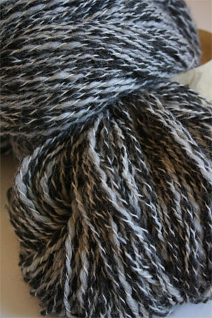 PT125 Charcoal Tweed Twist Peruvian Twist Superfine Alpaca
