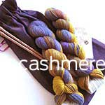 Passionate Knitters Pouch cashmere