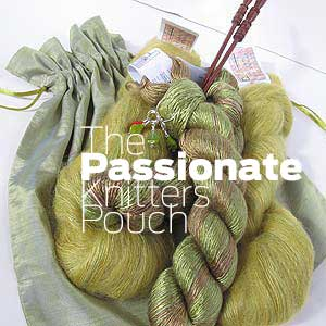 Passionate Knitters Pouch