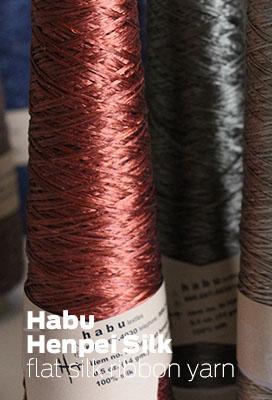 Habu Henpei Silk Ribbon Yarn