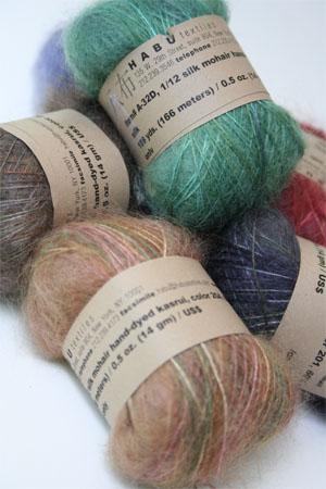 Habu Kasuri Silk And Mohair Knitting Yarn