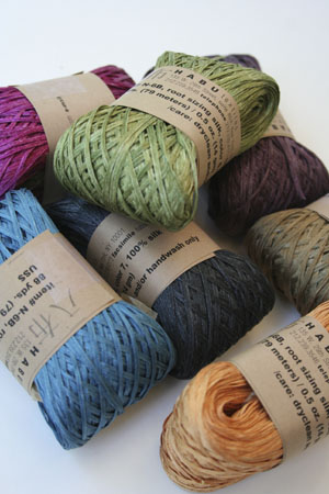 Habu Silk Ribbon Knitting Yarn