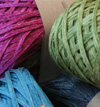 Habu Root Silk Ribbon Yarn