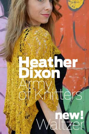 ARMY OF KNITTERS BY HEATHER DIXON PATTERNS & KITS