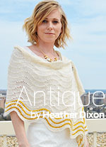 Antique by Heather Dixon of Army of Knitters