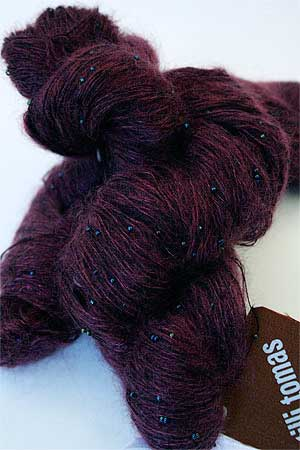 Symphony Lace yarn in Midnight Borealis
