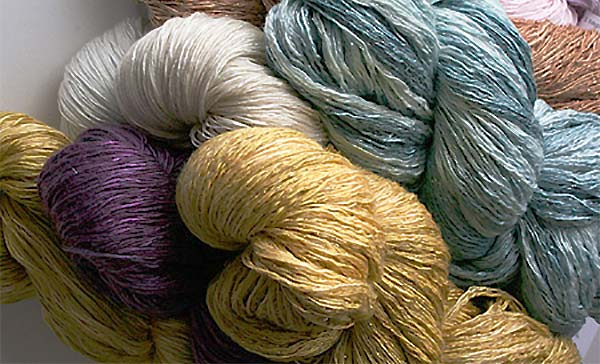 Artyarns Ensemble Glitter Light fingering weight Silk Cashmere Yarn