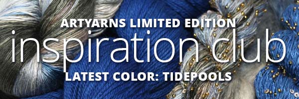 NEW COLOR FOR NOVEMBER 2020: ARTYARNS INSPIRATION CLUB TIDEPOOLS