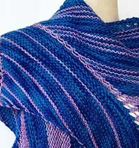 ARTYARNS KITS | TRIANGULATION SHAWL