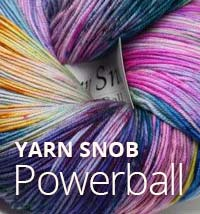 YARN SNOB POWERBALL
