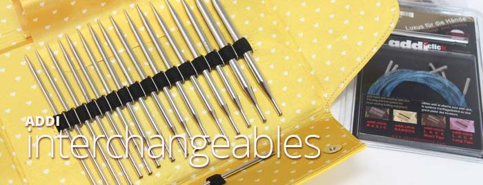 Addi CLICK INTERCHANGEABLE KNITTING NEEDLE SETS