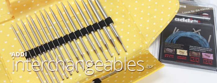 Addi CLICK INTERCHANGEABLE KNITTING NEEDLE SETS