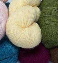 Galler Yarns PPrime Alpaca Heathers Yarn