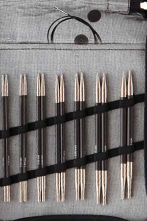 Knitters Pride Karbonz Carbon Fiber Interchangeable Midi Set
