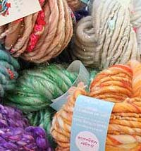 knitcollage gypsy garden