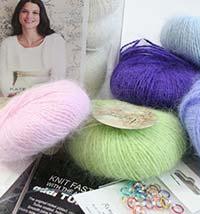 luxury knitting kits