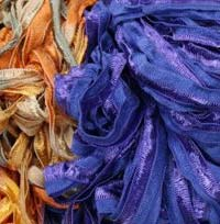 MANGO MOON SILK RIBBON YARN