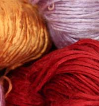 Peau De Soie Hand Dyed Silk Yarn