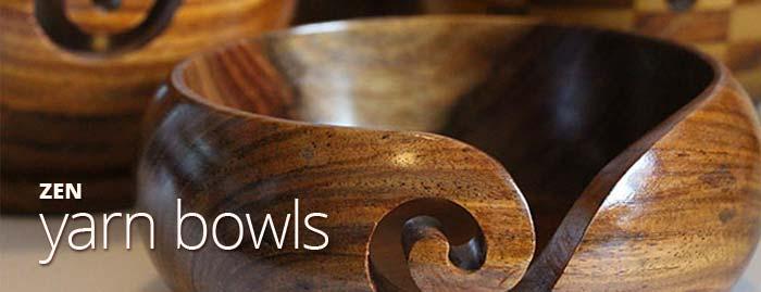 fab zen wooden yarn bowls