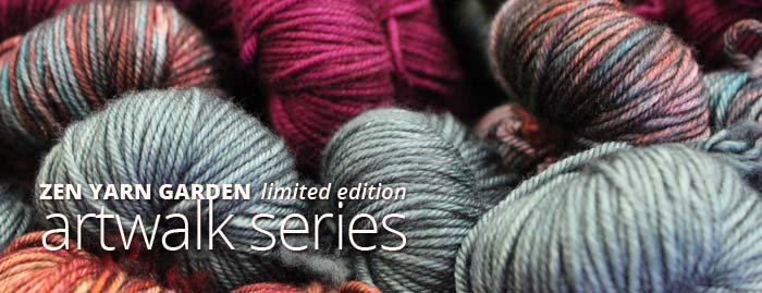 Zen Yarn Garden Limited Edition Artwalk Series