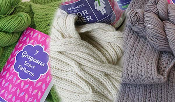 Jade Sapphire Cashmere Scarf kit for HER