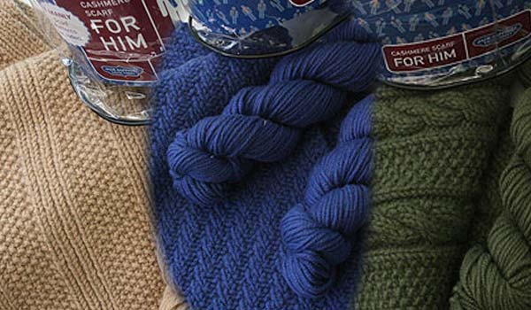 Jade Sapphire Cashmere Scarf kit for HIM