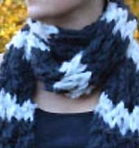 ARMY OF KNITTERS: OOOH SOFTEST SCARF KNIT KIT