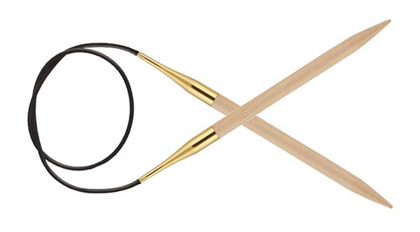 Knitters Pride Basix Birch Jumbo Circular Knitting Needles