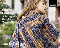 Malabrigo Book 13 SHAWL ROAD
