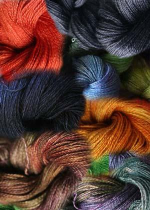 Malabrigo Baby Silkpaca lace yarn