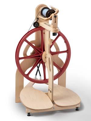 Schacht Ladybug Double Treadle Spinning Wheel
