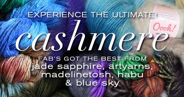 Experience the Ultimate--Cashmere Yarn at Fab