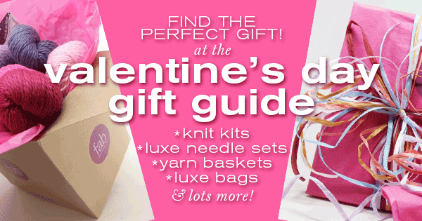 Perfect Valentines Day Gifts for knitters at Fab