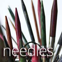knitting needles and hooks