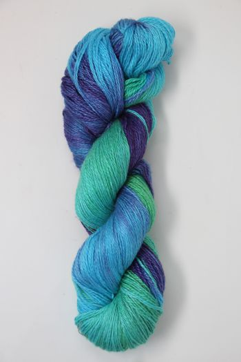JADE SAPPHIRE Baby 2 ply Silk Lace Cashmere in 134 Bali Hai