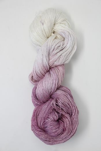 JADE SAPPHIRE Baby 2 ply Silk Lace Cashmere in 13A Berries And Cream