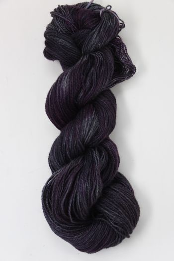 JADE SAPPHIRE Baby 2 ply Silk Lace Cashmere in 184 Black With Benefits