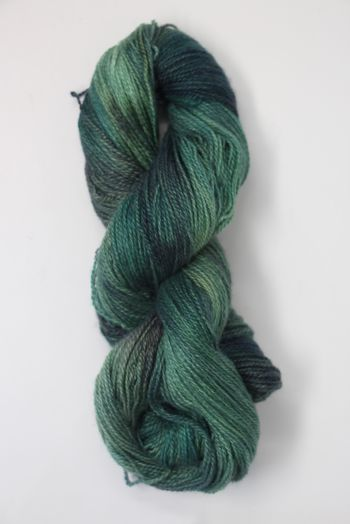 JADE SAPPHIRE Baby 2 ply Silk Lace Cashmere in 178 Hook Up Green
