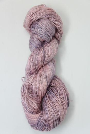 JADE SAPPHIRE Baby 2 ply Silk Lace Cashmere in 163 Pink Granite