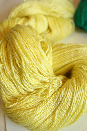 Silk and Cashmere Lace Knitting Yarn in Tweety