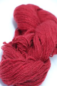 Jade Sapphire Angelwing 100% Handspun Cashmere 201 Seeing Red