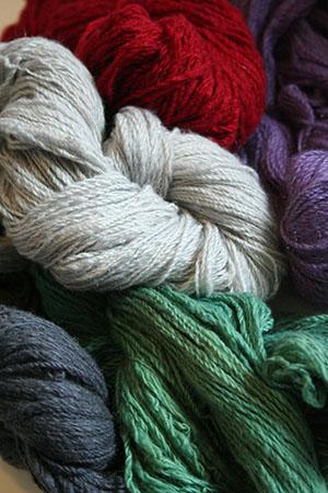 Jade Sapphire Angelwing 100% Handspun Cashmere Yarn