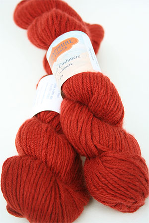 Jade Sapphire Mongolian Cashmere 6-Ply worsted Cashmere Yarn in 83 Paprikash