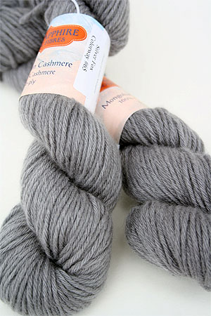 Jade Sapphire Cashmere 6-Ply Yarn Color :: 65 Silver Fox