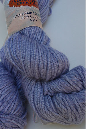 Jade Sapphire Mongolian Cashmere 6-Ply worsted Cashmere Yarn in 51 Lupine