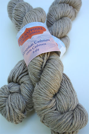 Jade Sapphire 100% Cashmere Yarn (6 ply) 50 Driftwood