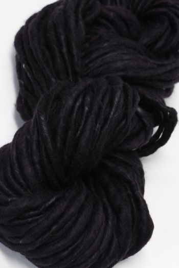 Jade Sapphire Bulky Handspun Cashmere in Black With Benefits