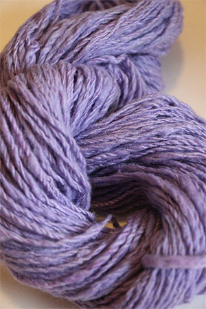 Jade Sapphire Handspun Cashmere in Lilac